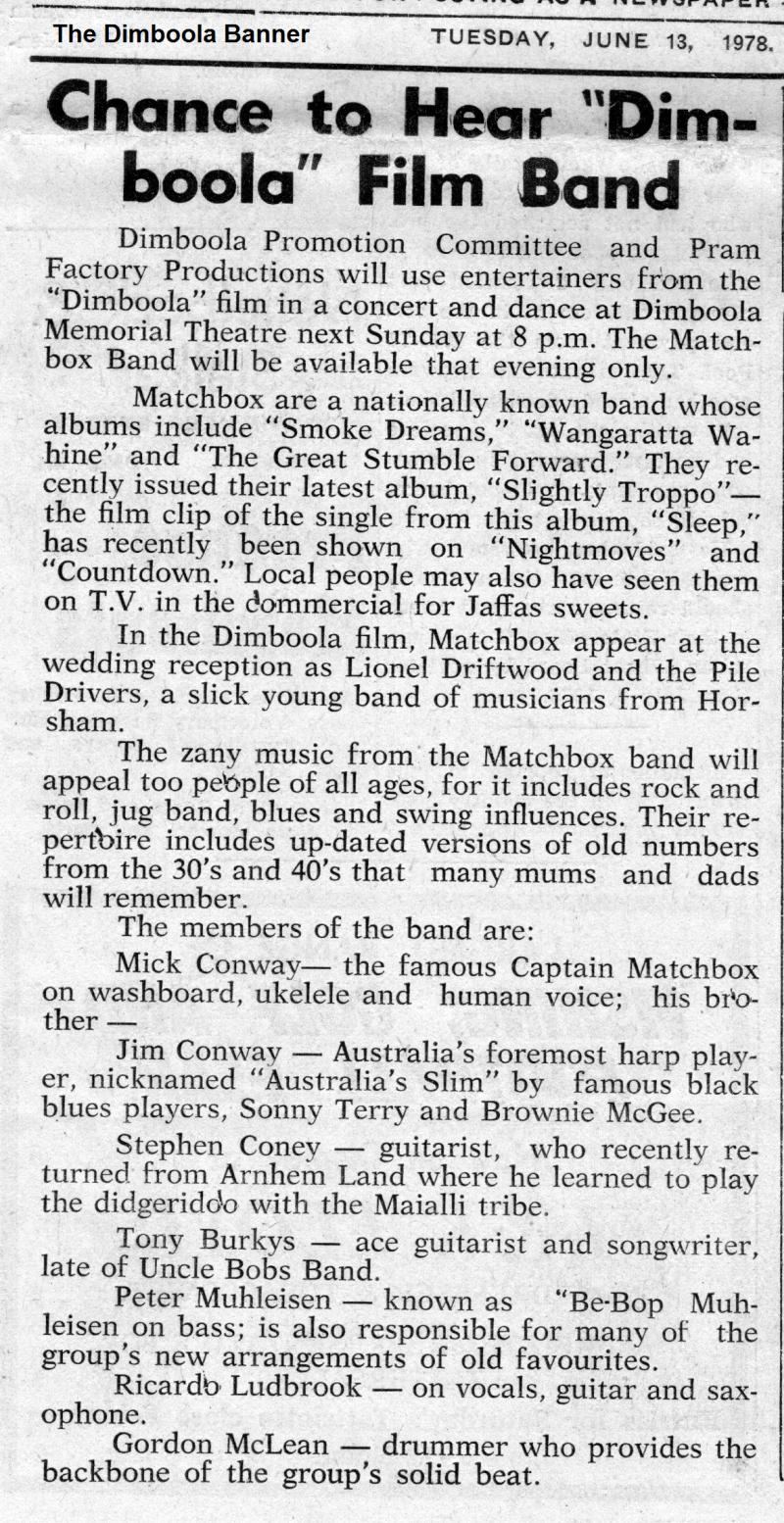 Film band article