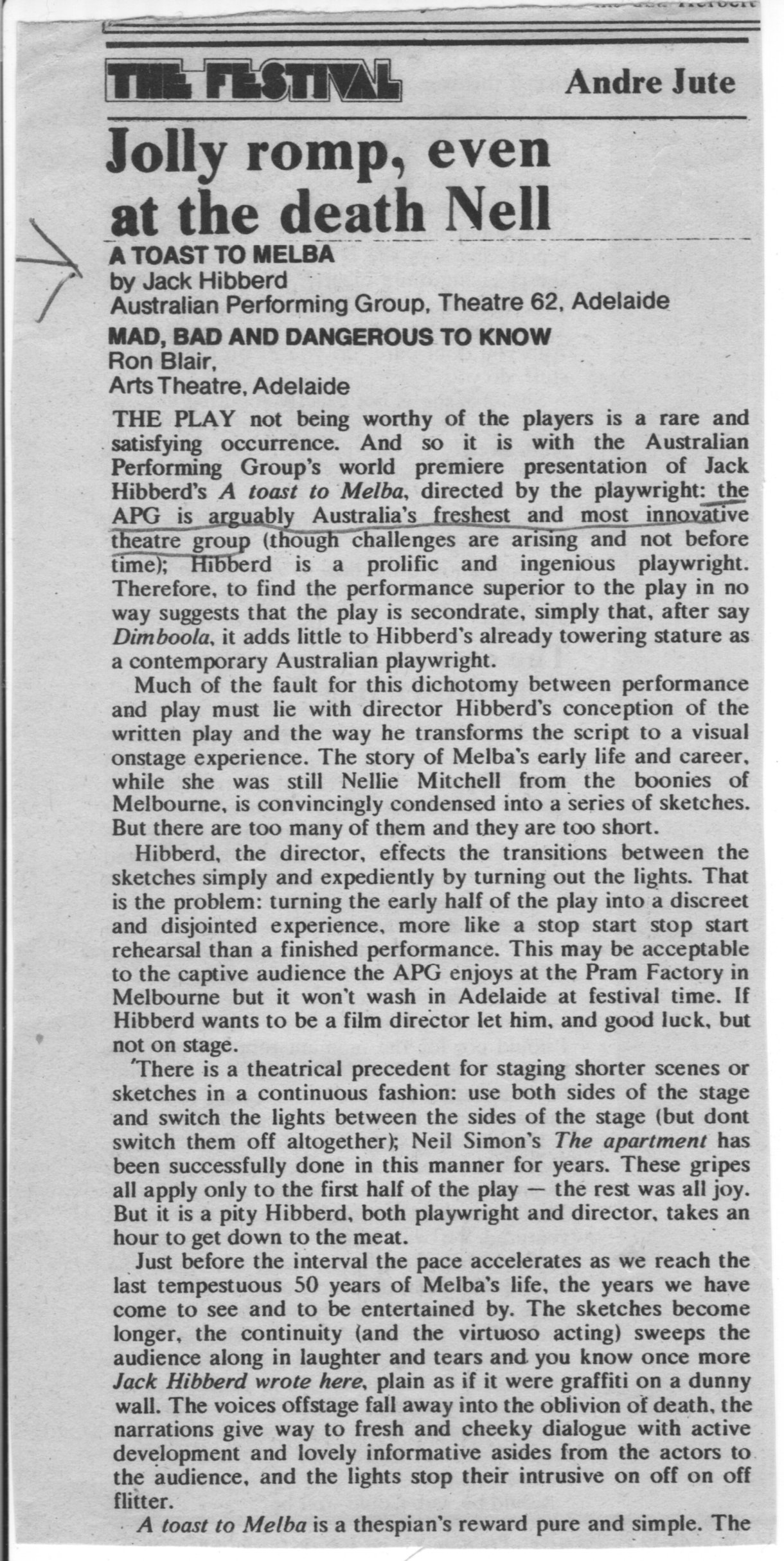 Toast-To-Melba-Adelaide-Review-Jute-26March1976_p1